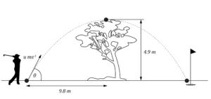 HSC Physics Module 2 Practice Question - Projectile Motion